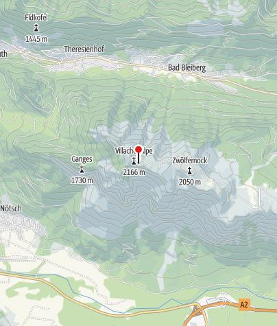Karte / Dobratsch Gipfelhaus