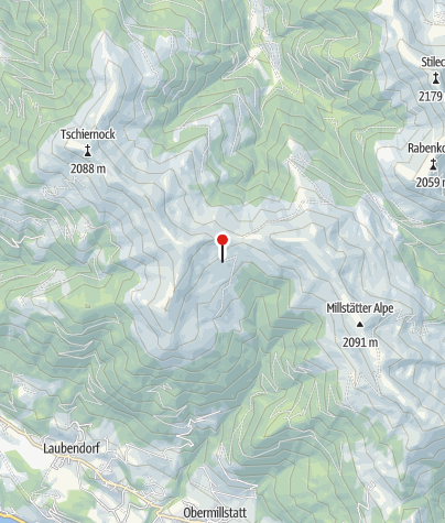 Karte / Millstätter Hütte