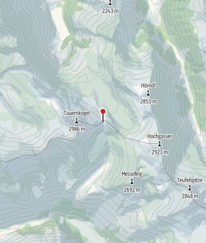 Karte / St. Pöltner Hütte