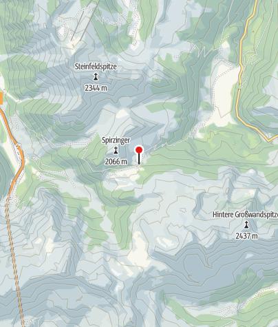 Map / Südwiener Hütte