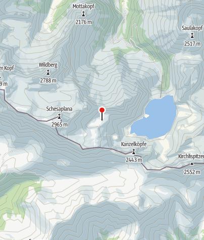 Karte / Totalphütte