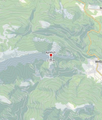 Karte / Weissbriacher Hütte