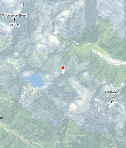 Karte / Böseckhütte
