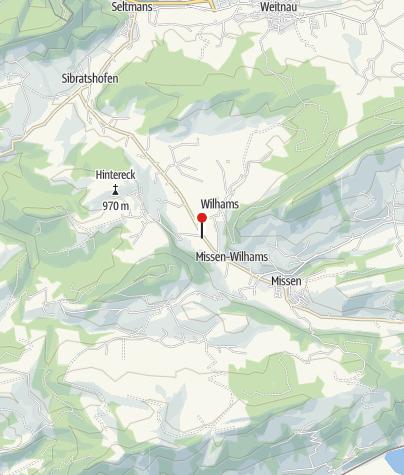 Karte / Haus Missen