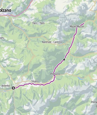 Val di Fassa Bike Path - Trentino Italy