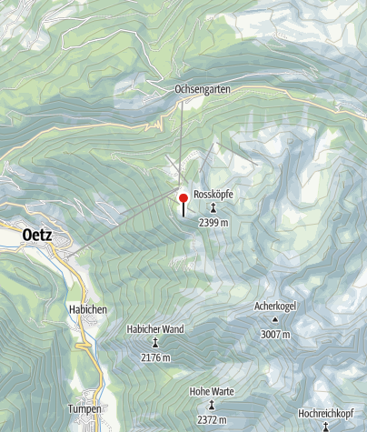 Karte / Bielefelder Hütte