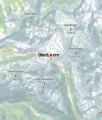 Karte / DAV-Haus Obertauern