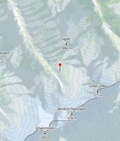 Karte / Greizer Hütte