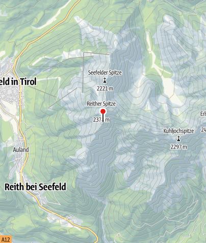 Karte / Nördlinger Hütte