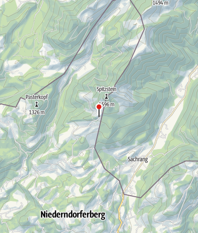 Map / Spitzsteinhaus