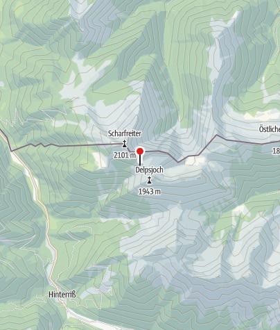 Karte / Tölzer Hütte