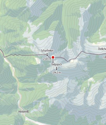 Map / Tölzer Hütte