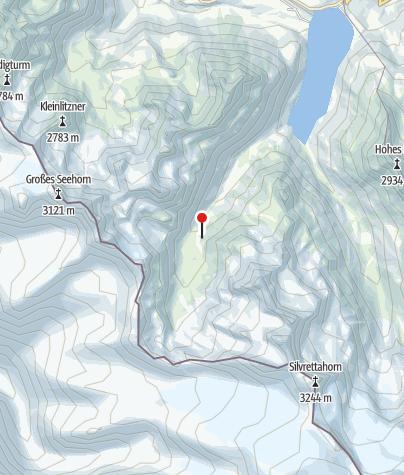 Karte / Klostertaler Umwelthütte