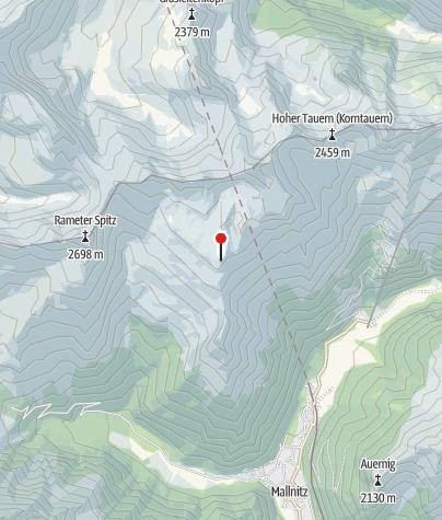 Karte / Mindener Hütte