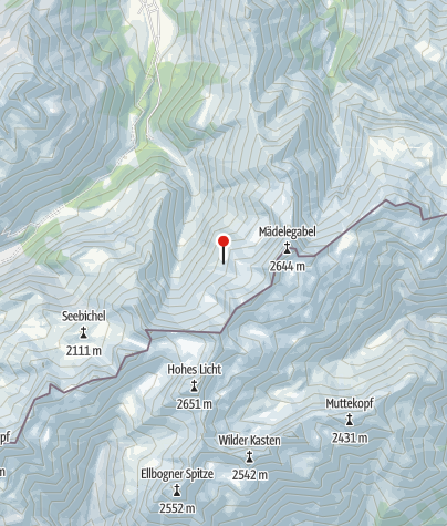 Karte / Waltenberger-Haus