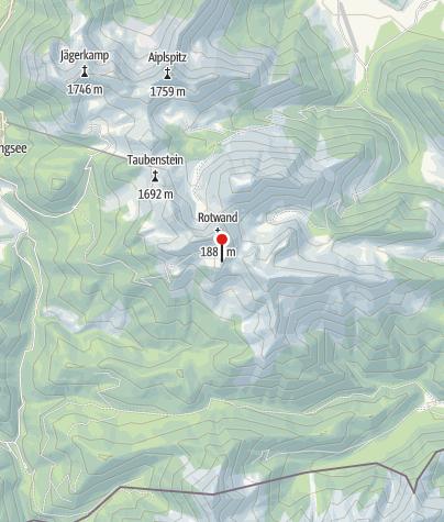 Karte / Rotwandhaus