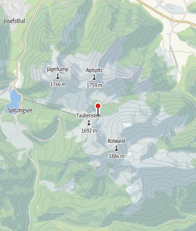 Karte / Taubensteinhaus