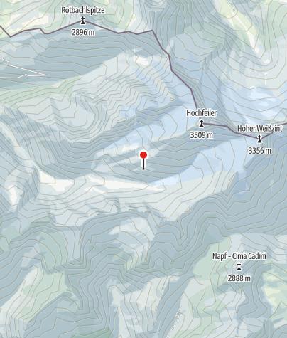 Karte / Hochfeilerhütte