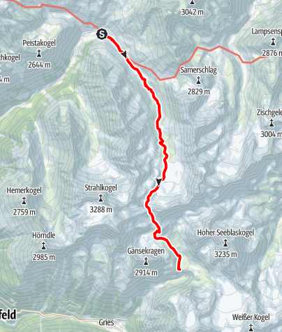 Map / Ötztal Trek Stage 03