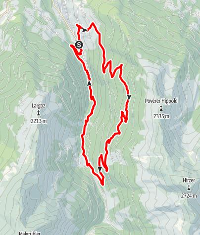 Karte / Waldrunde Wattenberg