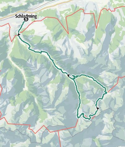 Karte / 2-Tages Tour: Wilde Wasser