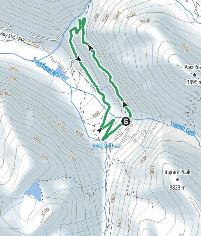 Map / Telluride's Krogerata