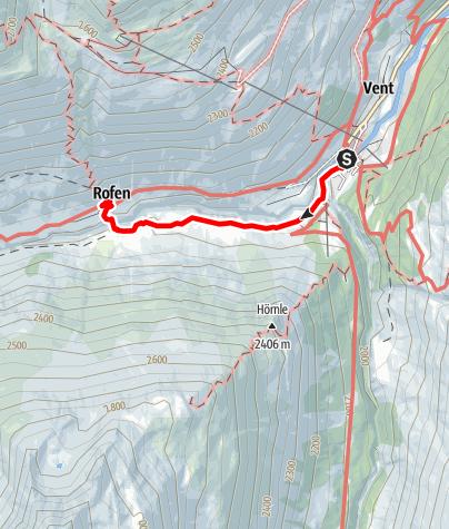 Map / Rofenhöfe 2014 m