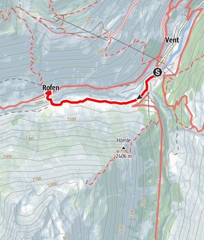 Karte / Rofenhöfe 2014 m