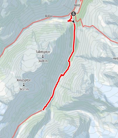 Karte / Martin-Busch-Hütte