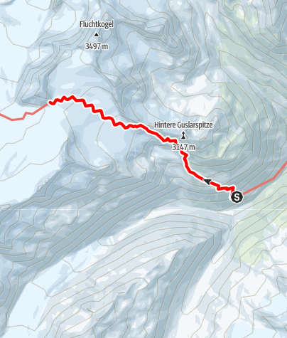 Map / Ötztal Trek Stage 14