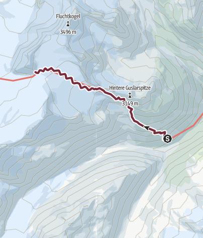 Map / Ötztal Trek Stage 14