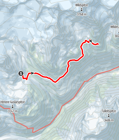 Map / Ötztal Trek Stage 16