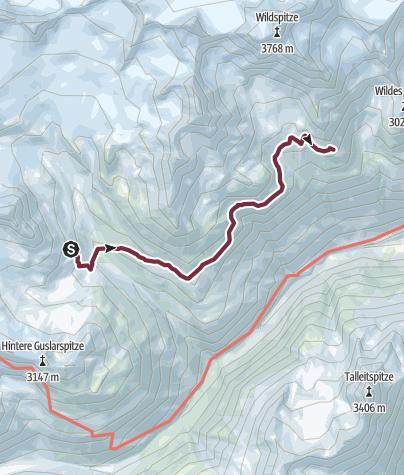 Map / Ötztal Trek Stage 16