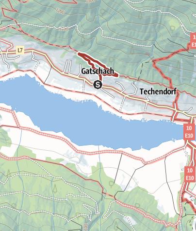 Karte / Weissenseer Bienenlehrpfad