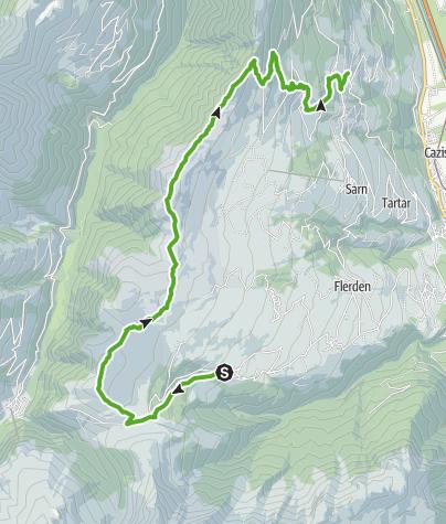 Map / Heinzenberger Gratwanderung