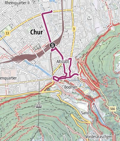 Walking tour through the Alpine City • Urban Walk » outdooractive.com