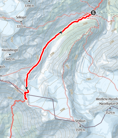 Map / Ötztal Trek Stage 12