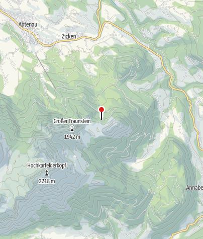 Karte / Gsengalmhütte