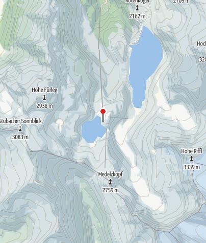 Karte / Berghotel Rudolfshütte