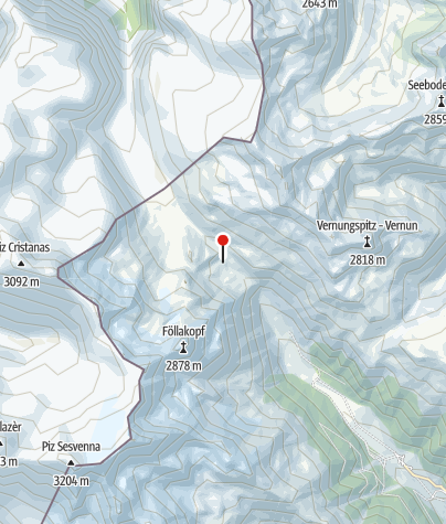 Karte / Sesvennahütte