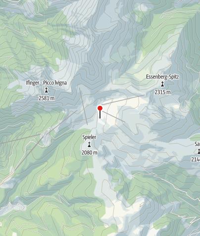 Karte / Meraner Hütte