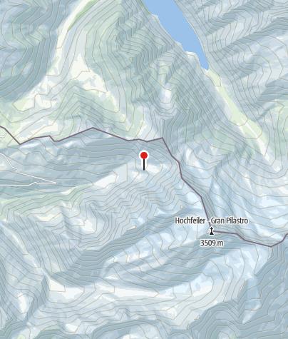 Karte / G. Messner-Hochferner Biwak