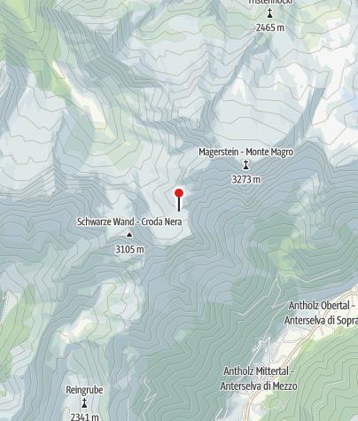 Karte / Rieserfernerhütte
