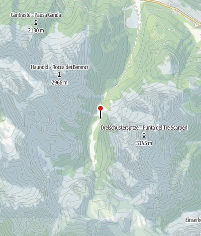 Karte / Dreischusterhütte