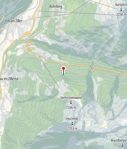 Karte / Berghotel Gerlosstein