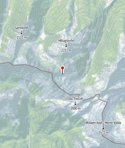 Karte / Letterspitz-Biwak