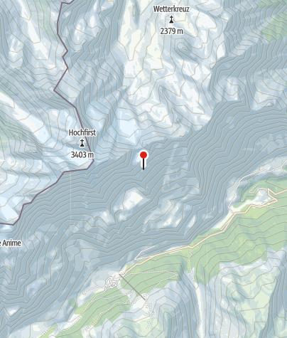 Karte / Rauhjoch-Biwak
