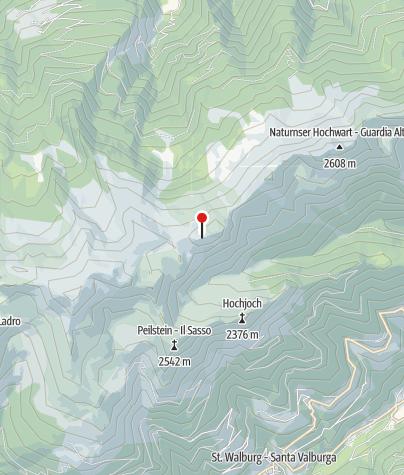Karte / Biwak Tablander Warter