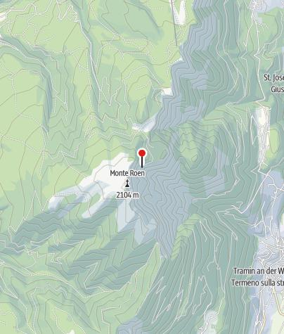 Karte / Überetscherhütte (Rif. Oltradige al Roen)
