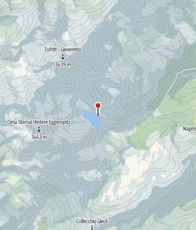 Karte / Höchsterhütte (Rif. Canziani)